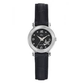 Orologio Donna GIRL-ONLY 698593 Cassa Zirconata Cinturino Pelle Nero