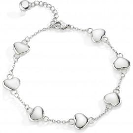 Bracciale donna in acciaio SECTOR jewels SACN20 FAMILY & LOVE a forma di cuori