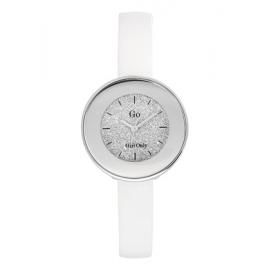 Orologio Donna GIRL-ONLY 698585 Cassa Acciaio Cinturino Pelle Bianco
