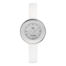 Women's Watch GIRL-ONLY 698585 Steel Case White Leather Strap