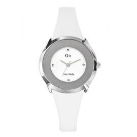 Orologio Donna GIRL-ONLY 697966 Cassa Acciaio Cinturino Pelle Bianco