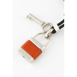 Woman Necklace BROSWAY PTL2 Steel and Agate Padlock