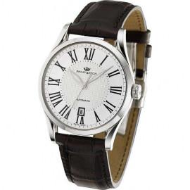 orologio uomo bianco PhilipWatch R8221180002 cassa acciaio cint. pelle