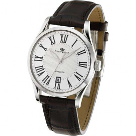 White man watch PhilipWatch R8221180002 steel case cint. skin