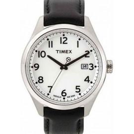 Men's Watch TIMEX T2M459 Steel Case Leather Strap