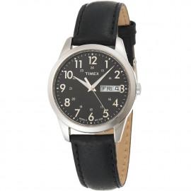 Men's Watch TIMEX T2N107 Steel Case Leather Strap
