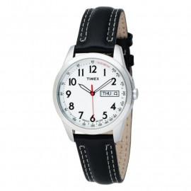 Unisex Speedometer TIMEX T2N227 Steel Case Leather Strap