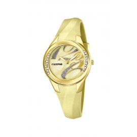 Clock CALYPSO K5598 / 9 Watch Case Plastic Rubber Strap