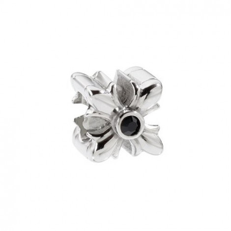 Charm in acciaio SECTOR jewels SAAL18 ACE beads a forma di fiore