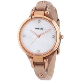 Orologio Donna FOSSIL ES3151 Cassa in Acciaio Cinturino in Pelle