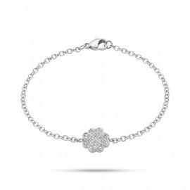Bracciale donna in acciaio SECTOR jewels SAGI05 NATURE & LOVE con swarovski