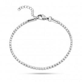 Bracciale in acciaio donna SECTOR jewels SAFS05 LOVE AND LOVE con cristalli