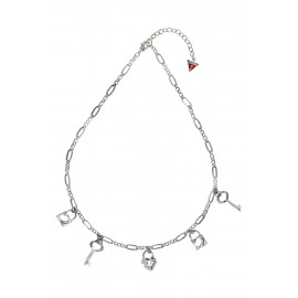 GUESS UBN81073 Women's Necklace in Stainless Steel with Pendants