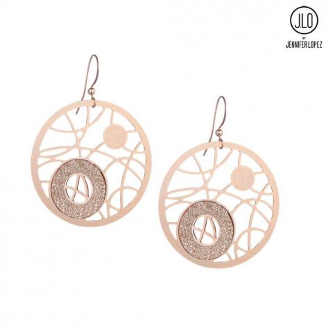 Orecchini donna gioielli J-LO J17GO373 WORLD pendenti in metallo rosa