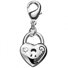 Charm Donna GUESS UBC81010 Cuore in Acciaio