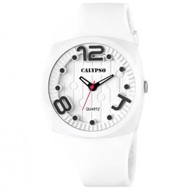 Clock CALYPSO K5633 / 1 Polycarbonate Case Silicone Strap
