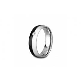 LOTUS P1482 Men's Steel Ring Size 14