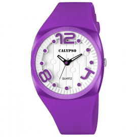 Clock CALYPSO K5633 / 3 Polycarbonate Case Rubber Strap