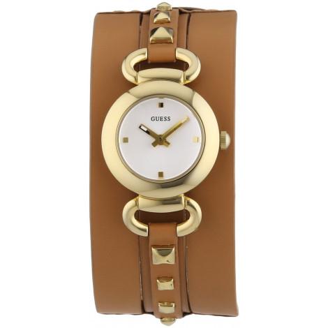 Orologio Donna GUESS W0160L4 Cassa in Acciaio Cinturino in Pelle