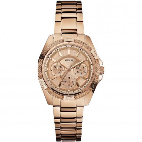 Orologio Donna GUESS W0235L3 Cassa e Cinturino Acciaio Placcato Oro Rosa