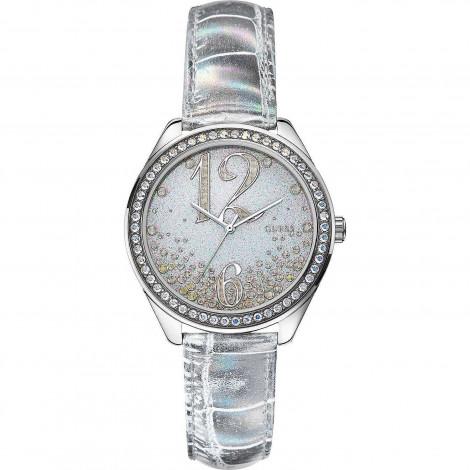 Orologio Donna GUESS W0338L2 Cassa in Acciaio Cinturino in Pelle