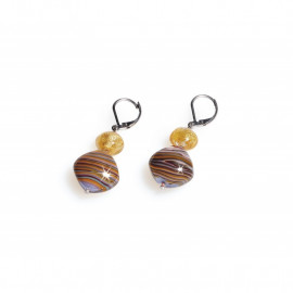 Women's earrings ANTICA MURRINA OR483A19 MILLERIGHE in metal and glass