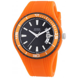 GUESS W95143G5 Men's Watch Polycarbonate Case Silicone Strap