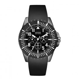 GUESS Watch W10261G1 Men's Watch Silicone Strap