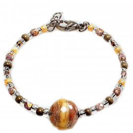 ANTICA MURRINA bracelet BR704A10 FALENA in hypoallergenic metal and glass