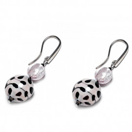 Earrings ANTICA MURRINA OR384A03 AUDREY 1 in hypoallergenic metal and glass