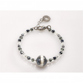 ANTICA MURRINA bracelet BR704A12 FALENA 2 in metal and glass