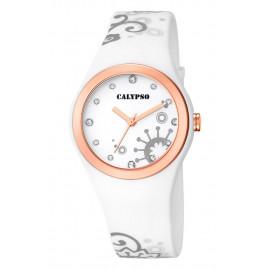 Clock CALYPSO K5631 / 3 Polycarbonate Case Rubber Strap