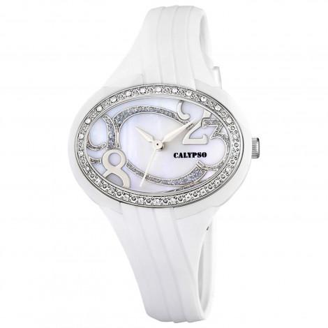 Orologio Bambina CALYPSO K5640/1 Cassa Policarbonato Cinturino in Gomma