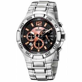 Orologio Uomo FESTINA F16299/3 Cassa e Cinturino in Acciaio,Cronografo