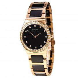 Orologio Donna BERING 32430-746 Cassa e Cinturino in Acciaio e Ceramica