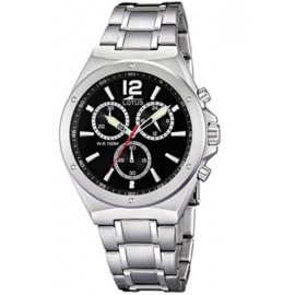 Orologio Uomo Lotus 10118/4 Cronografo Cassa e Cinturino Acciao