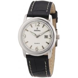 Women's Watch FESTINA F16517 / 4 Steel Case Leather Strap