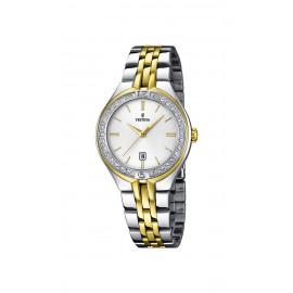 Orologio Donna FESTINA F16868/1 Cassa e Cinturino in Acciaio e Cristalli