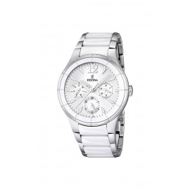 Ladies' Watch FESTINA F16624 / 1 Steel and Ceramic Cases and Bracelets