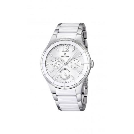 Orologio Donna FESTINA F16624/1 Casse e Cinturino in Acciaio e Ceramica
