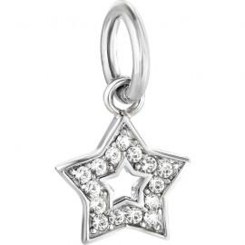 Charm in acciaio donna MORELLATO SCZ650 DROPS a forma di stella