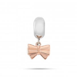 Charm in acciaio donna MORELLATO SCZ418 DROPS a forma di fiocco rosa