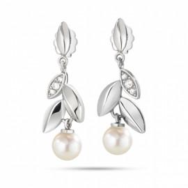 Orecchini donna MORELLATO SAER23 GIOIA in acciaio,perle  e cristalli