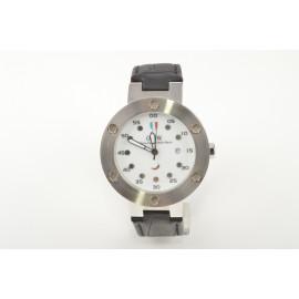 Men's watch OIW W11043 Steel Case Leather Strap