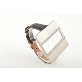 Women's Watch OIW W11079 Square Steel Case Leather Strap