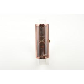 Women's OIW Watch W11094 Steel Case Shape Lipstick Leather Strap