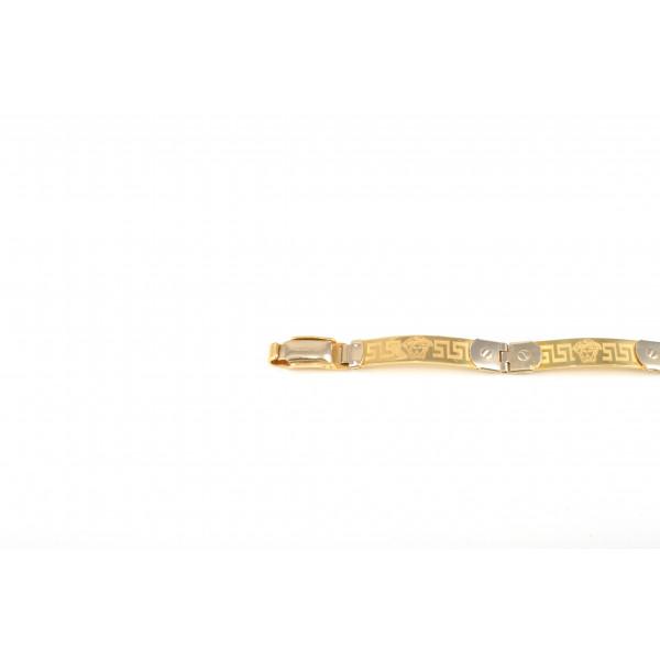 bracciale versace oro