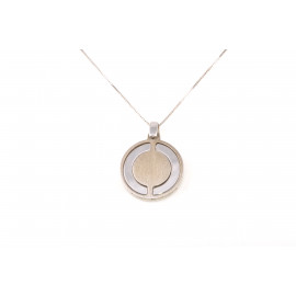 Silver Men's Necklace ONAIS W9989 Silver Pendant