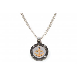 Men's Silver Necklace ONAIS Y6346 with Silver Pendant
