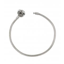 Bracciale per Charms AMORE&BACI 66005 Rose Clip Argento 925